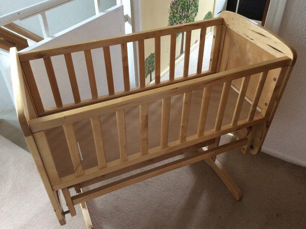 mothercare rocking criblullaby crib
