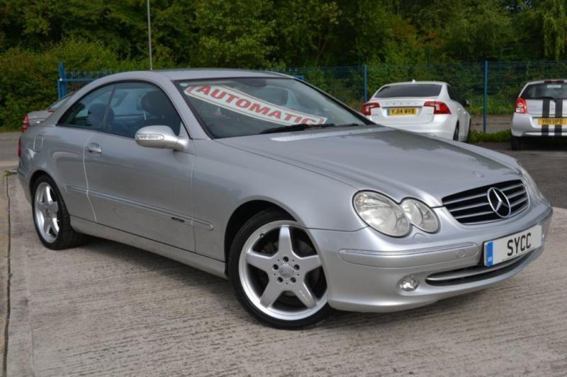 2002 Mercedes Benz CLK 320 Avantgarde 2dr Tip Auto 2 Door Coupe