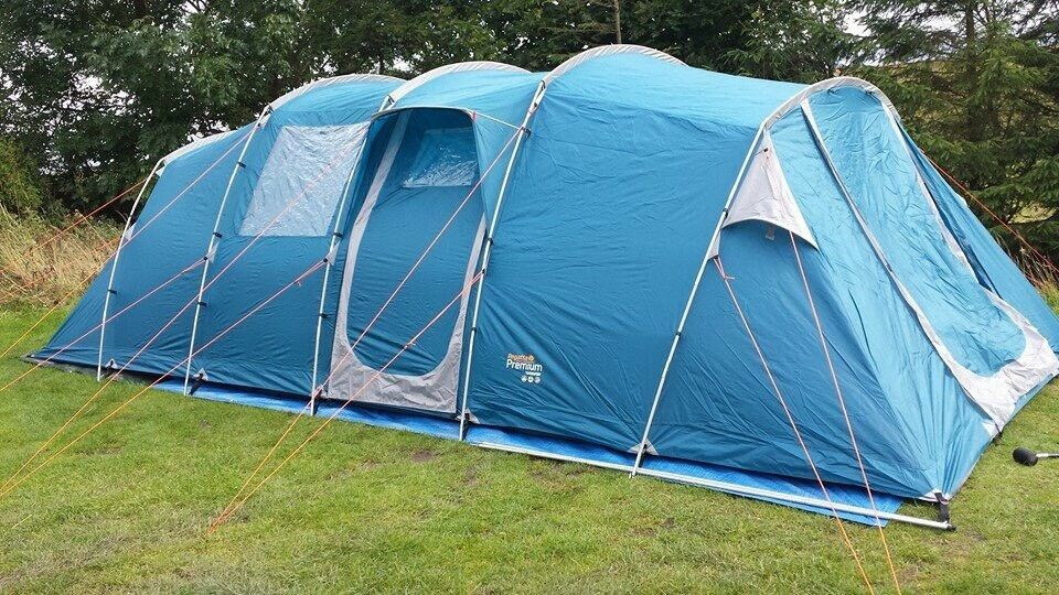 Regatta Premium 8 man tent with carpet. & Regatta Premium 8 man tent with carpet. | in Blyth Northumberland ...