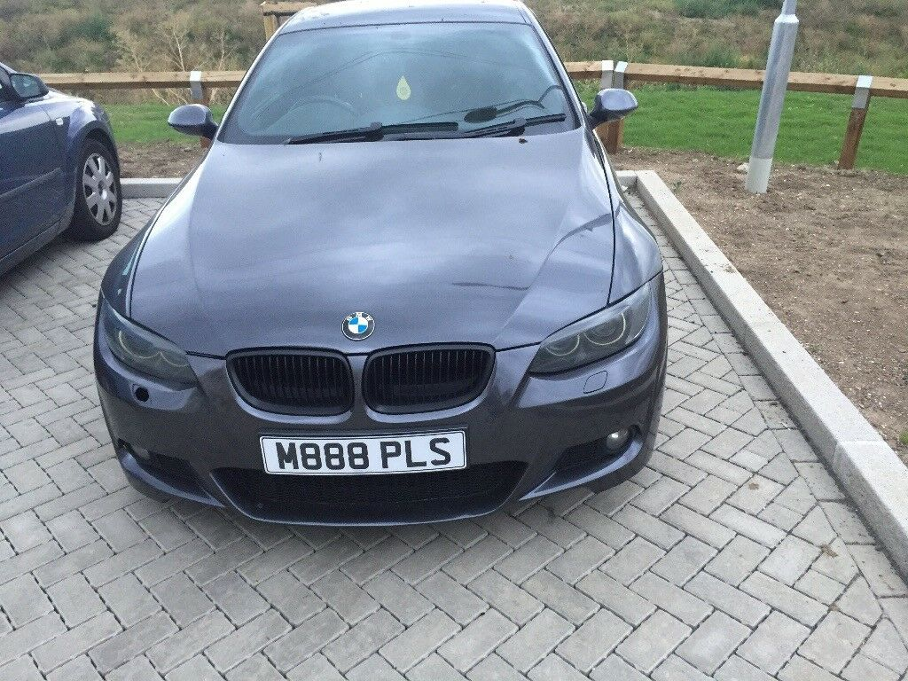 Cheap Quick Sale BMW 3 Series M Sport Coupe Dark Gray Fully Loaded