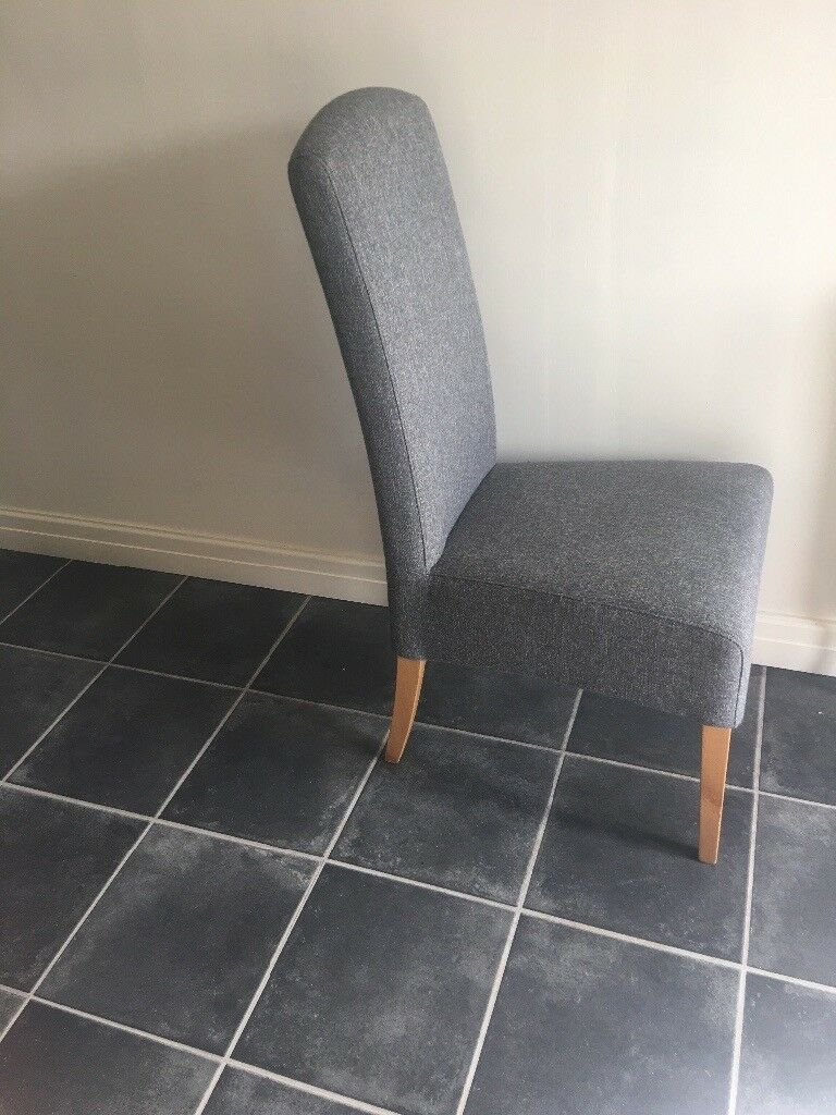 x4 next sienna grey dining chairs great condition 200 m33 collection