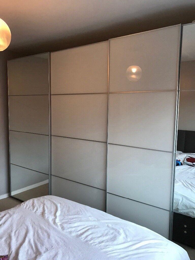 Ikea Pax sliderobe DOORS x2 Excellent condition & Ikea Pax sliderobe DOORS x2 Excellent condition | in County Antrim ...