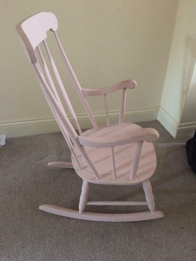 Shabby chic rocker chair & Shabby chic rocker chair | in Middlesbrough North Yorkshire | Gumtree