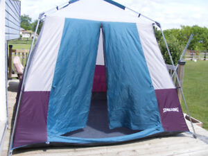 SPALDING 5 MAN 9X9 QUICK SET UP TENT WITH FLY & Tents 8 | Buy or Sell Sporting Goods u0026 Exercise in Canada | Kijiji ...
