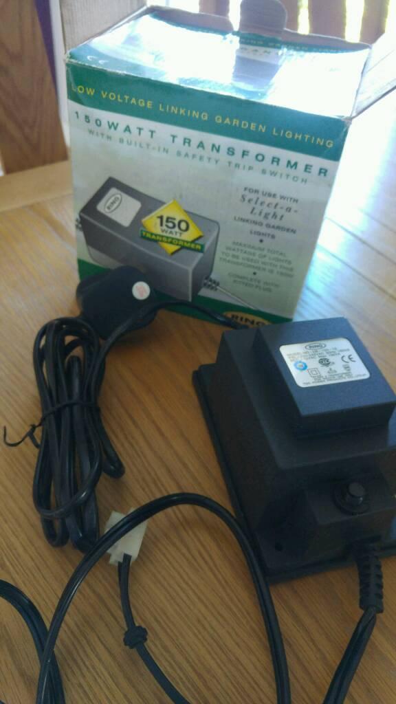 Garden Lighting Transformer 150watt By Ring