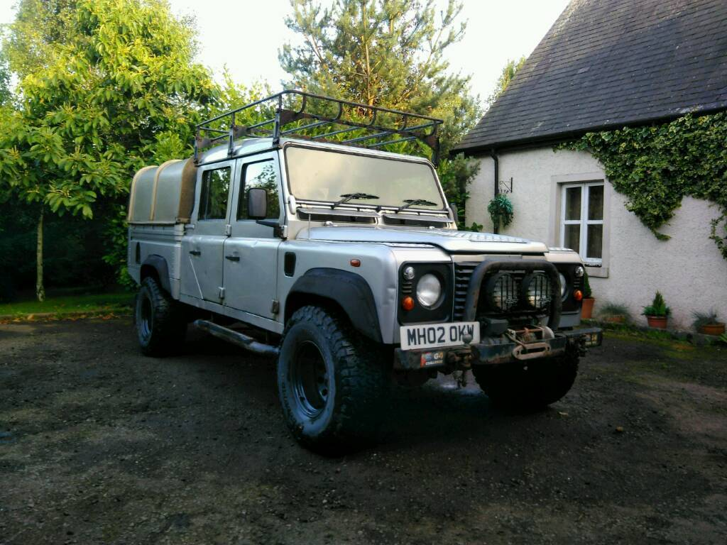 Land Rover Defender 130 Double Cab Pick Up & Land Rover Defender 130 Double Cab Pick Up | in Galashiels ...