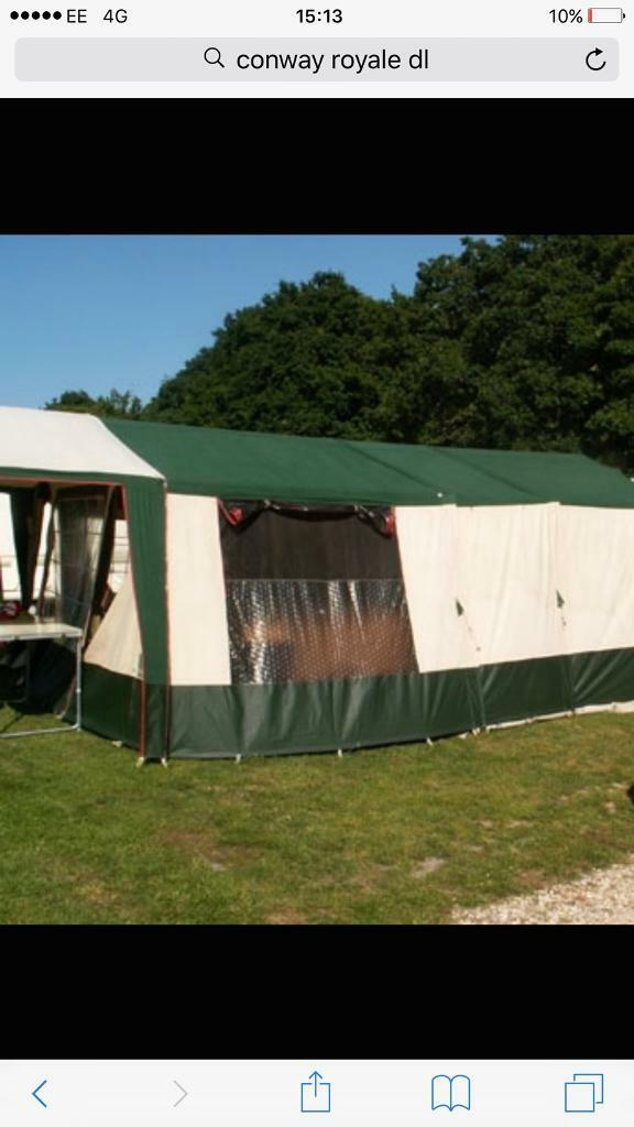 Trailer tent conway dl c&ing & Trailer tent conway dl camping | in Sidcup London | Gumtree