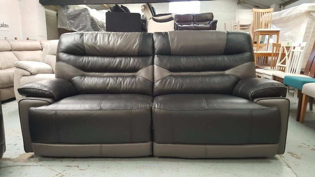 Ex-Display ScS Venus Black/Grey 3 Seater Manual Recliner Sofa **CAN & Ex-Display ScS Venus Black/Grey 3 Seater Manual Recliner Sofa ... islam-shia.org