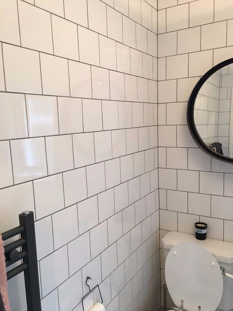 White Metro Tiles   Bathroom, Kitchen Wall Tiles   Brand New In Box