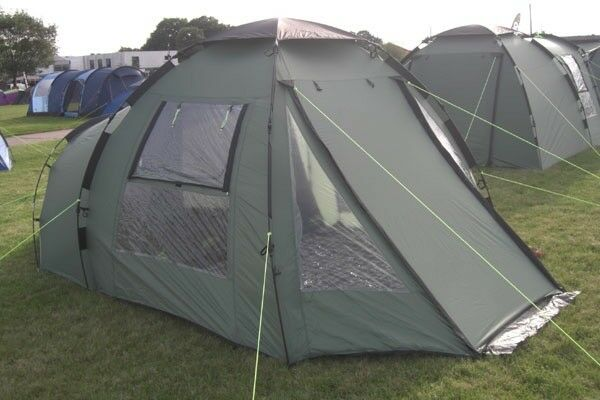 Khyam Freelander three man tent including footprint ground sheet and carpet. & Khyam Freelander three man tent including footprint ground sheet ...