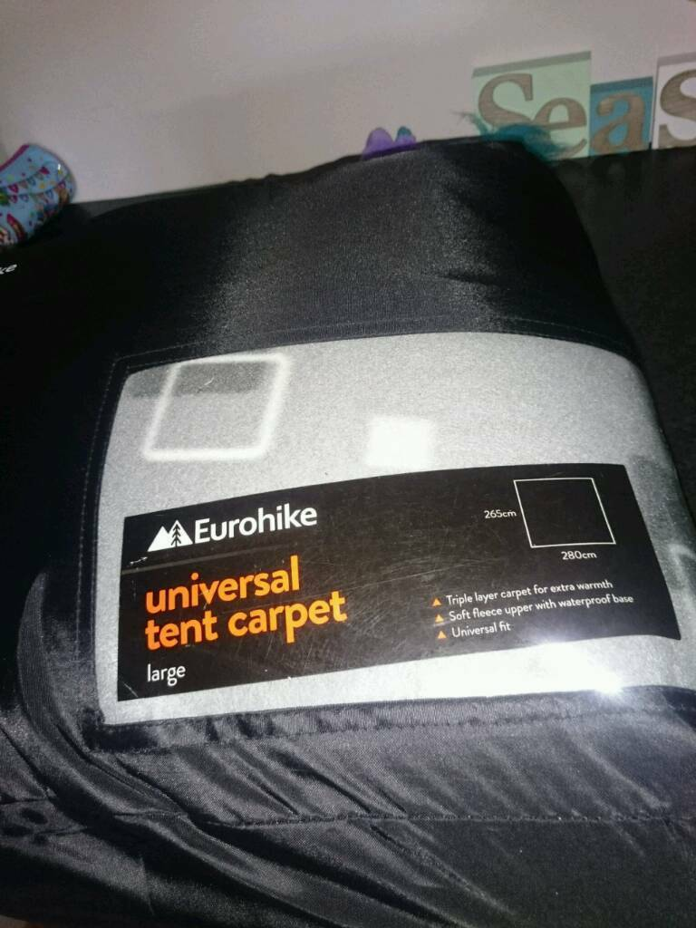 Eurohike large tent carpet & Eurohike large tent carpet | in Nuthall Nottinghamshire | Gumtree
