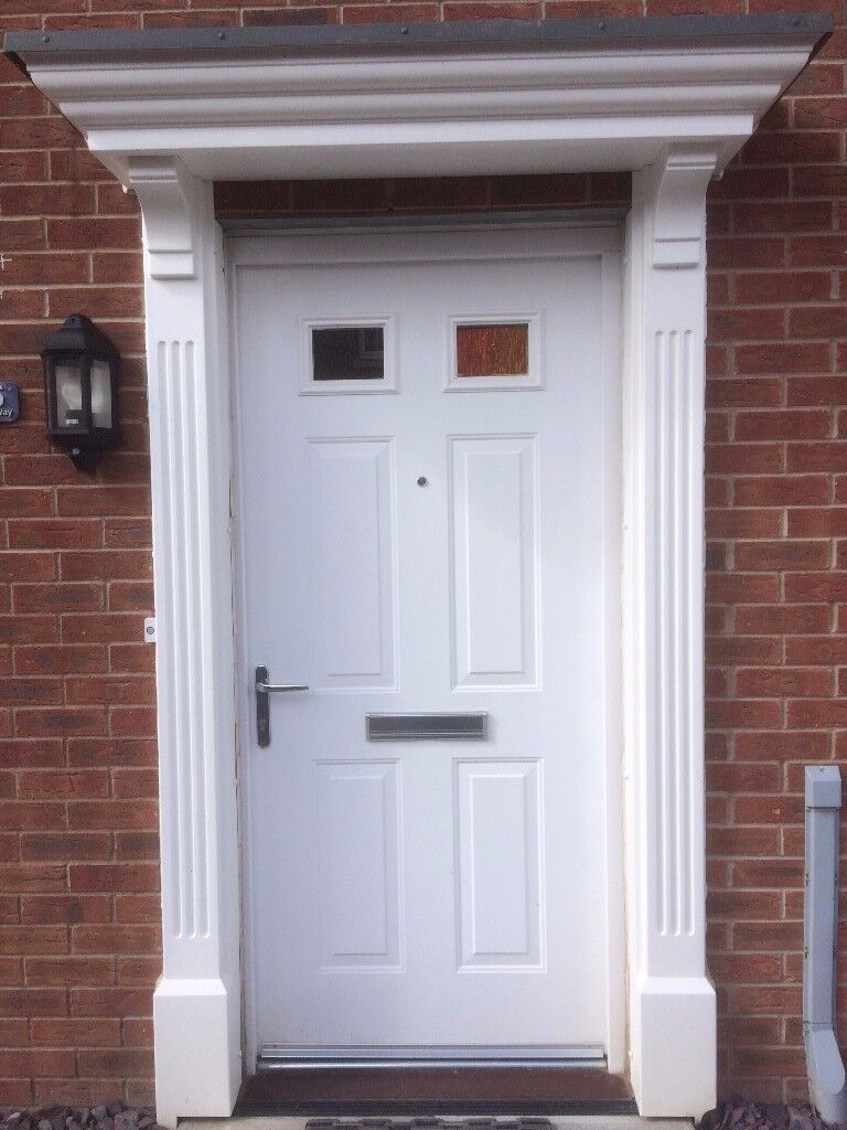 uPVC Door Canopy u0026 Surround & uPVC Door Canopy u0026 Surround | in Pontypridd Rhondda Cynon Taf ...
