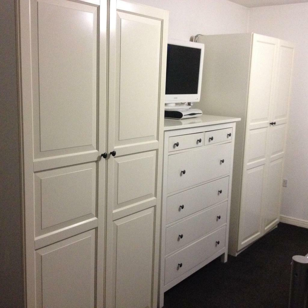 Trendy Set Of Ikea Hemnes Wardrobes Excellent Now At Ikea With Ikea Hemnes  Armoire.