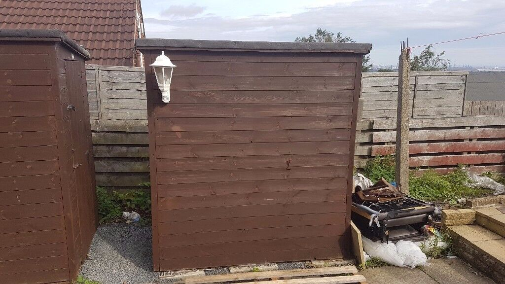 GARDEN SHEDS FOR SALE X2