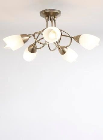 BHS Ottoni Lights Ceiling lights and Wall lights frosted Satin Antique Brass & BHS Ottoni Lights Ceiling lights and Wall lights frosted Satin ... azcodes.com