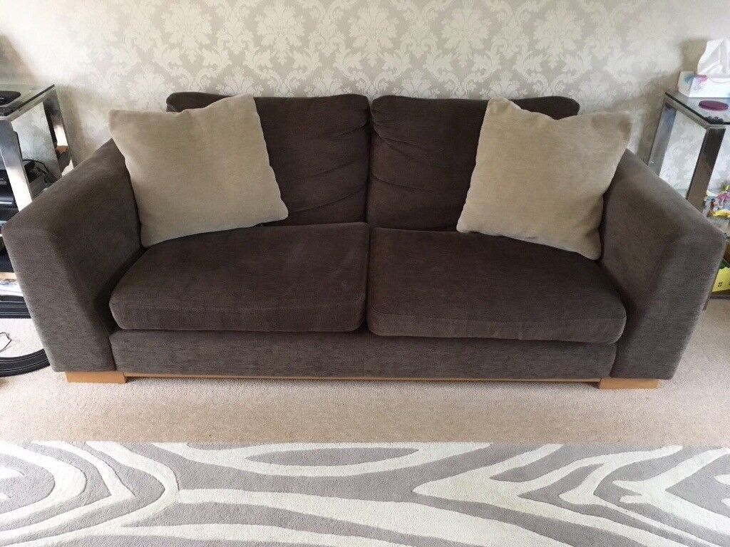 John Lewis Digby 2 X Sofas And 1 X Chair