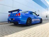 1999 Nissan Skyline R34 2.6 GTR + RACE SPEC / ROAD LEGAL + 735 BHP
