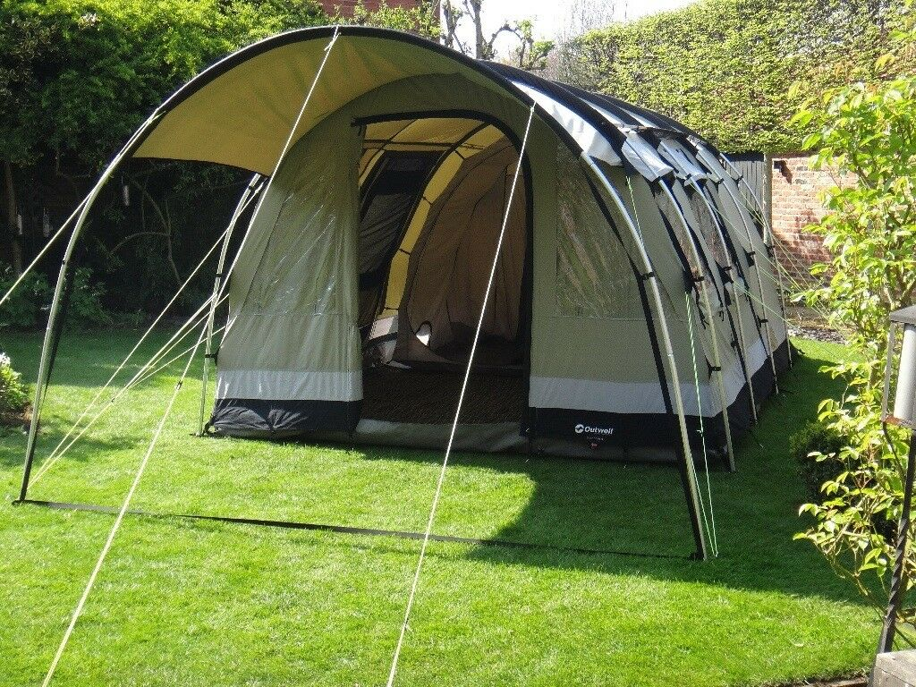 Outwell Bear Lake 4 polycotton tent with carpet & Outwell Bear Lake 4 polycotton tent with carpet | in Northallerton ...