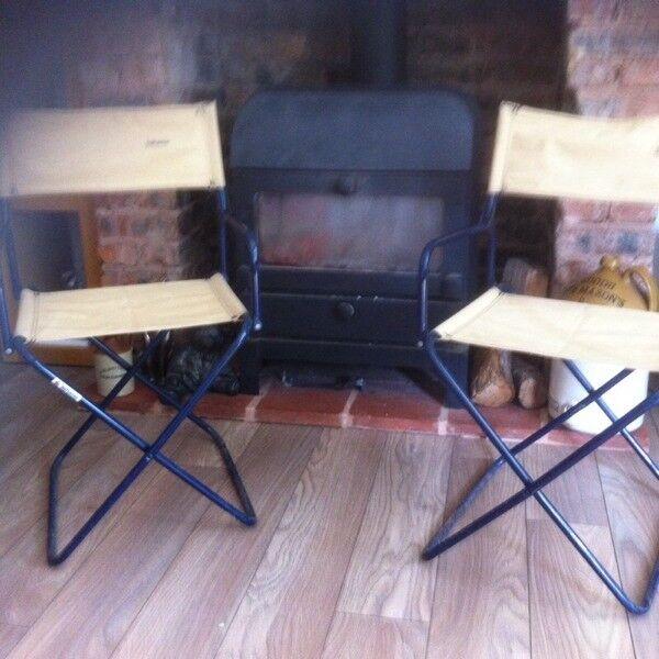 Vintage Lafuma Camping Chairs