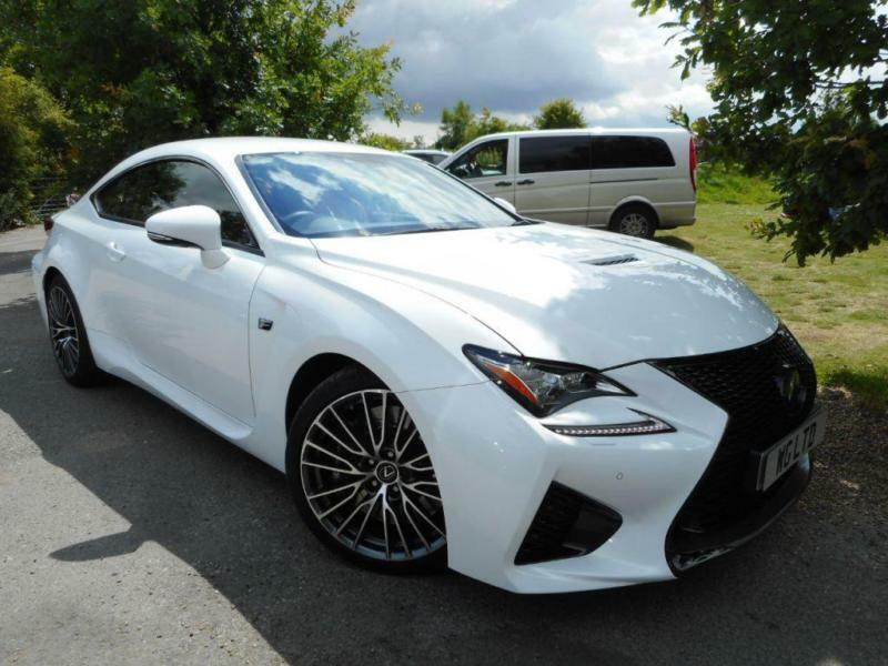 2015 Lexus Rc 500 5.0 2dr Auto Adaptive Cruise! FSH! 2 Door Coupe