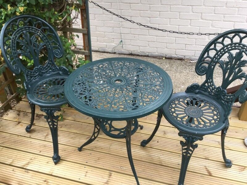 Garden Table And Chairsin Kings Lynn, NorfolkGumtree   Garden Bistrol Garden  Table And Chairs Handy