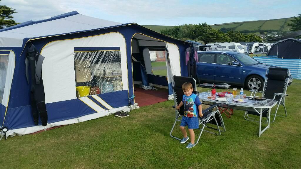 Pennine Sovereign 545tc folding c&er trailer tent & Pennine Sovereign 545tc folding camper trailer tent | in Godalming ...