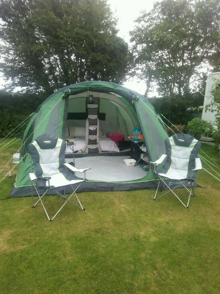 Outwell Woodworth 500 Inflatable Tent Pls Read Carefully & Outwell Woodworth 500 Inflatable Tent Pls Read Carefully | in ...