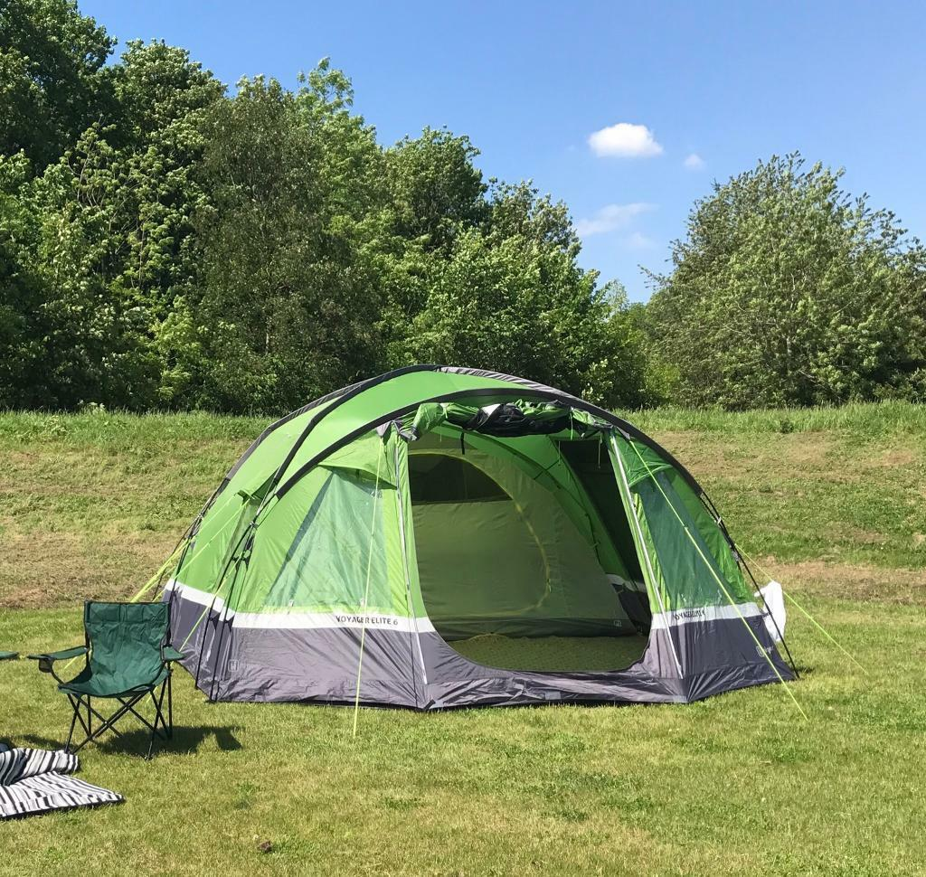 Hi Gear Voyager Elite 6 man tent carpet and footprint bundle & Hi Gear Voyager Elite 6 man tent carpet and footprint bundle | in ...