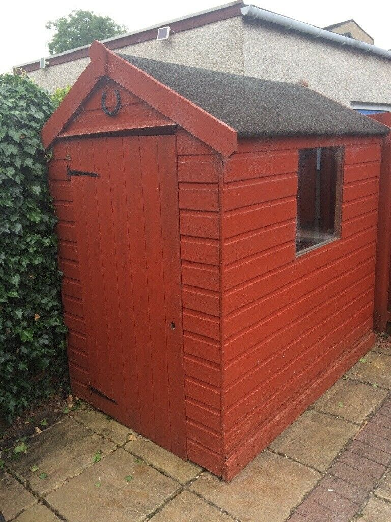 Garden Shed For Sale, Buyer To Uplift