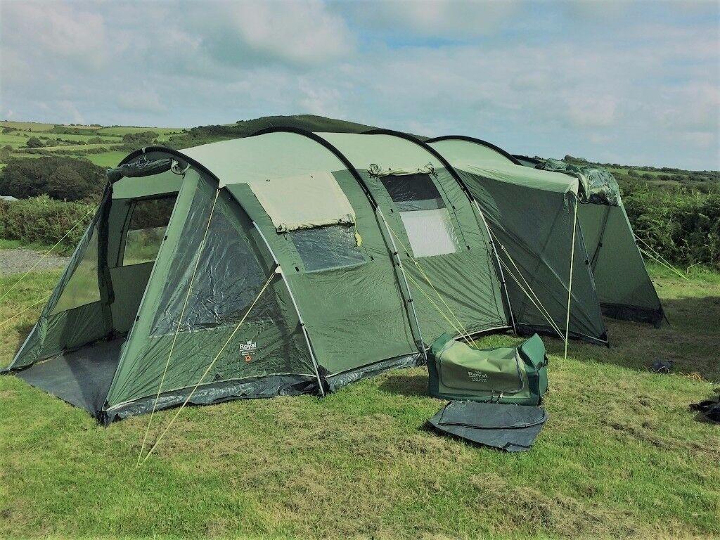 Royal Toledo 8 Berth Family Tent & Royal Toledo 8 Berth Family Tent | in Swansea | Gumtree