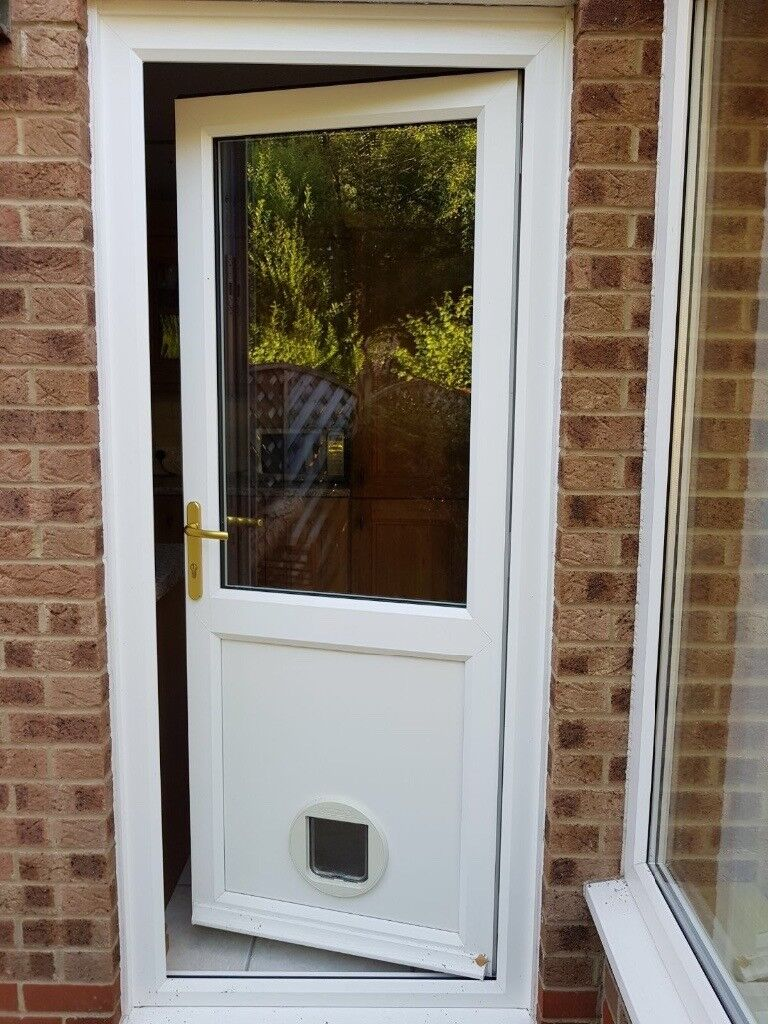 UPVC door and frame Excellent condition 2100 x 900mm outside dimensions Anglian product : anglian doors - pezcame.com