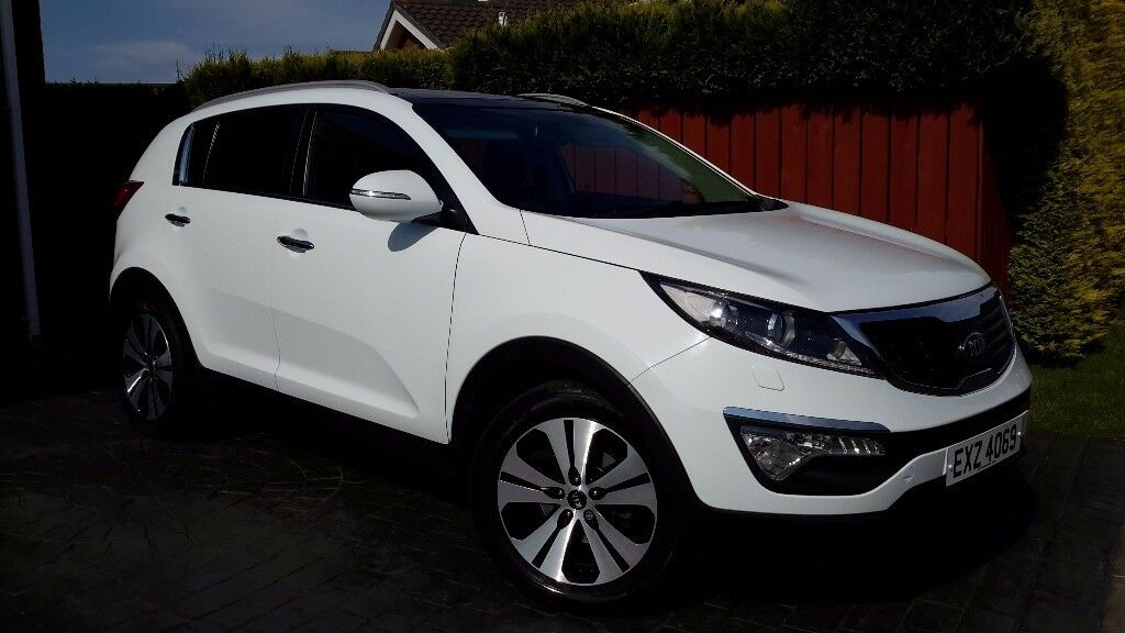 2013 Kia Sportage 3 Sat Nav, Top Spec Excellent Condition.Price Reduced.