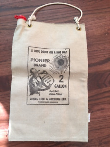 Vintage Jones Tent u0026 Awning Water Cooling Canvas Bag - New & Canvas Tent | Buy u0026 Sell Items From Clothing to Furniture and ...