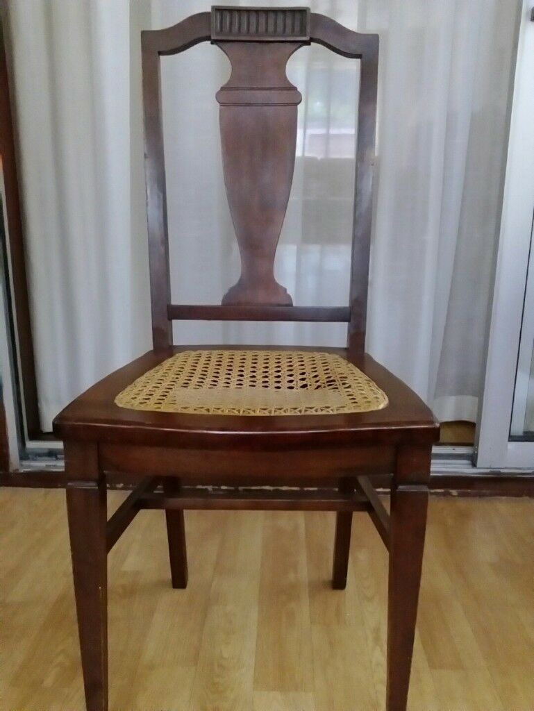 WOODEN CHAIR PAINE FURNITURE COMPANY BOSTON USA