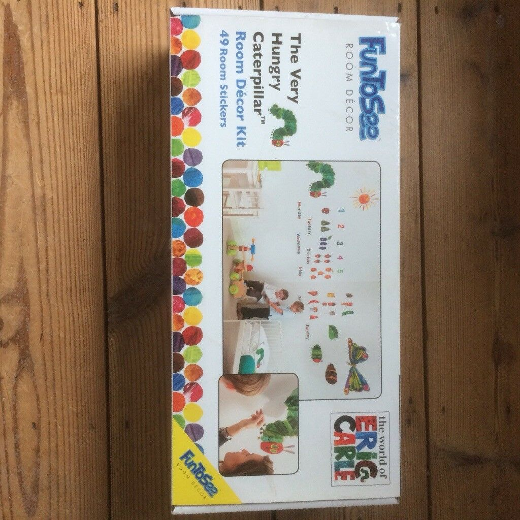The Very Hungry Caterpillar Wall Stickers Part 34