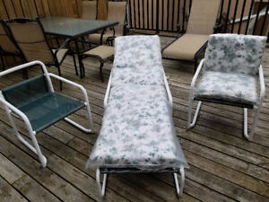 4 Piece Outdoor Furniture Set By Hauser