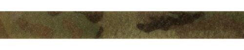 """25mm - 1"""" Original Crye Multicam VELCRO Brand - Loop ( Military Webbing MTP"""