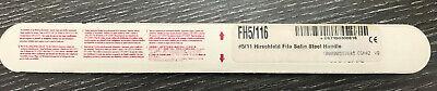 Hu-friedy Fh511 Hirschfeld File Scaler. 6 Handle Free Shipping Wbin