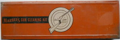 Tin Lithographed Marble's Gun Cleaning Kit Box