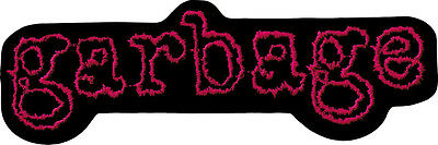 9467 Pink & Black Garbage Logo Shirley Manson 90s Alternative Patch / Applique