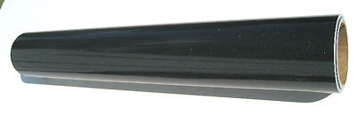 Black Ultra Metallic Sign Vinyl 24 X 15 Ft Roll Cutter Plotter Film