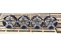 "18"" Vw Golf mk7 R-line wheels 5x112 Rep. full refurbish"