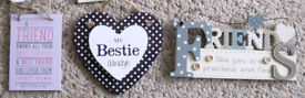 NEW wooden 'Friends' Plaques