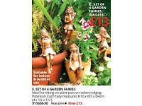 Set 0f 4 Garden Fairies
