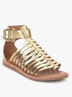 5b07175f0a4 Clarks women s Renee Ice gladiator gold metallic sandals. UK size 5 ½ D.  Condition  hardly worn.