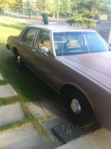 1989 caprice ex rcmp car 9c1 package