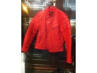 Motorbike jacket leather, racing jacket, touring jacket