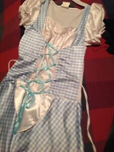 Dorothy Costume with shoes