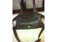 Duffel bag leather bag excellent condition