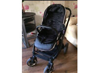 Oyster 2 travel system from new born pram pushchair